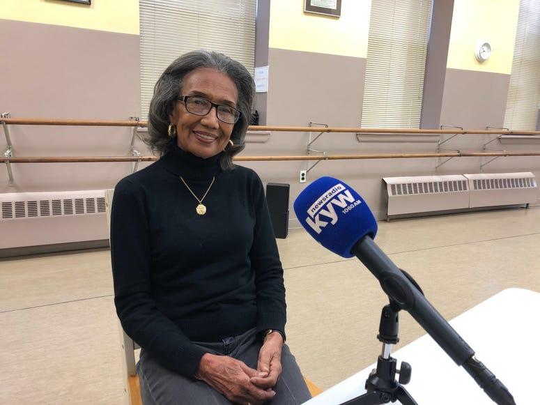 Joan Myers Brown, founder of the Philadelphia School of Dance Arts and Philadanco