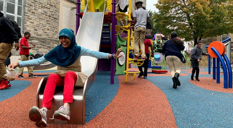 Overbrook Educational Center playground