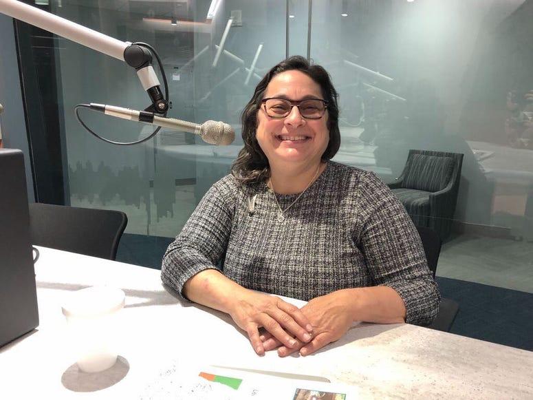 Julie Slavet, executive director of Tookany/Tacony Watershed Partnership, Inc.