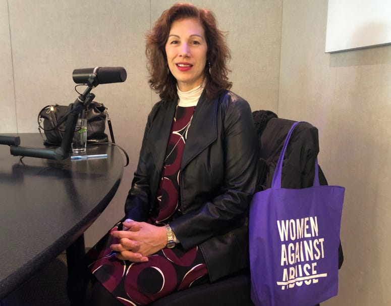 Jeannine Lisitski, executive director of Women Against Abuse