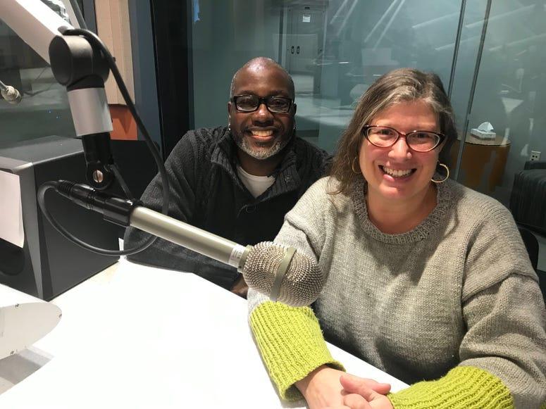 PhillyCAM's Gretjen Clausing and Len Webb