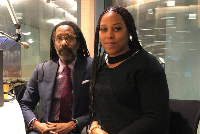 LeToya Ramseure and attorney Michael Coard