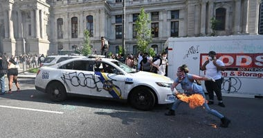 Philadelphia rioting