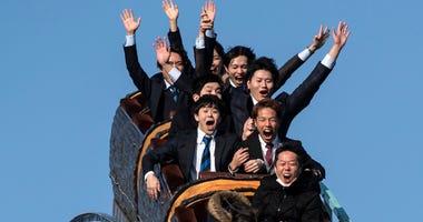Japan Toshimaen Amusement Park