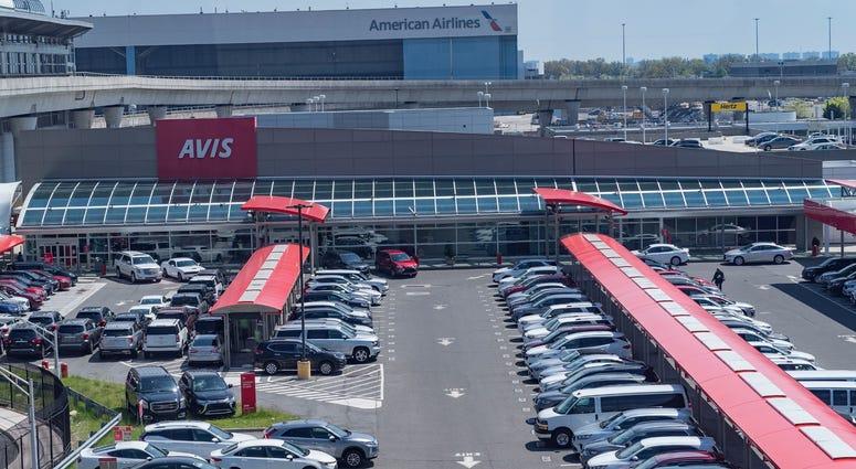 Avis Rental Parking Lot