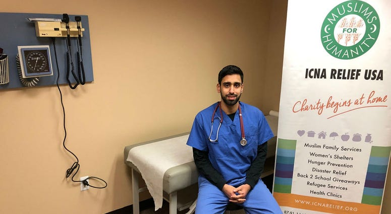 Ammar Shahid, a second year resident who will volunteer his time at the clinic.