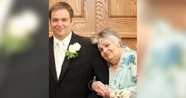 Rick Brozozowski and his mother, Loretta.