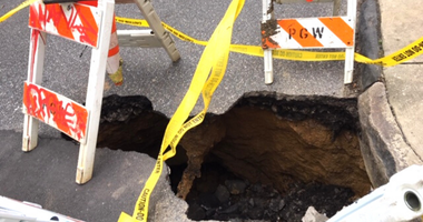 South Philly sinkhole