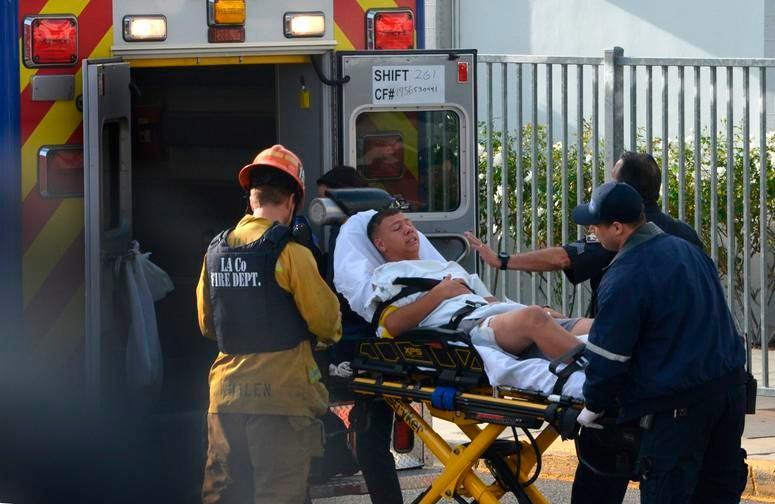 Saugus student injured