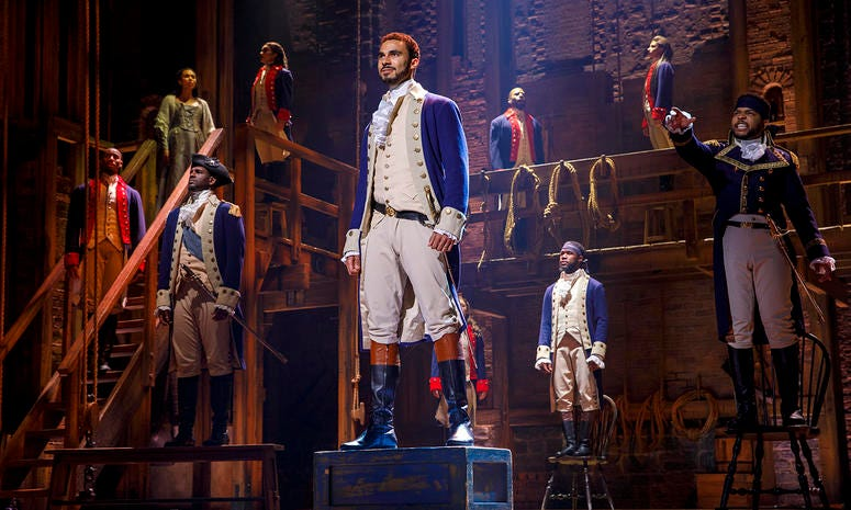 Broadway Philadelphia's Hamilton