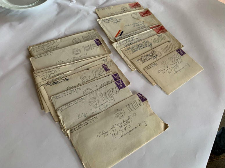 Love letters from a South Jersey couple found in Tennessee.