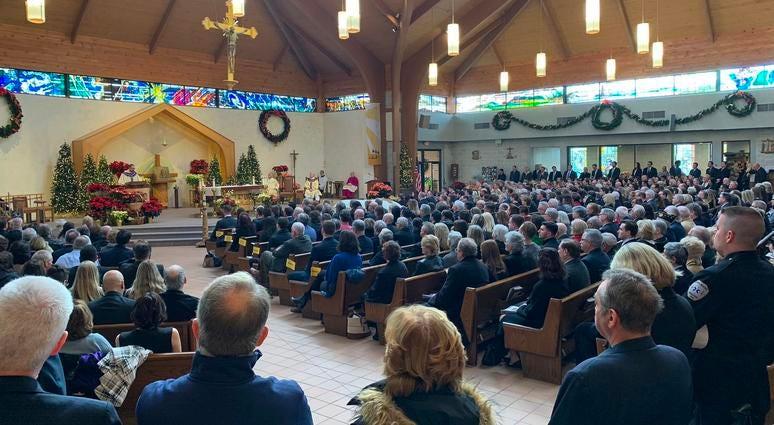 Mike Fitzpatrick memorial service