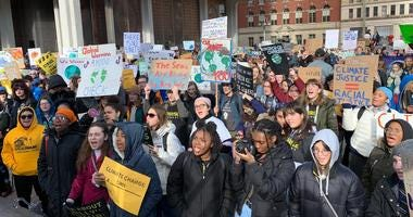 Philly student climate strike