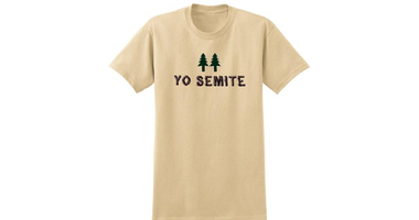 """YO SEMITE"" T-shirt at NMAJH Store"