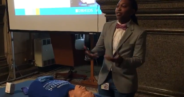 It's a sign of the times: Philadelphia City Council members and their staffs received training Tuesday on how to administer the overdose-reducing drug Narcan.