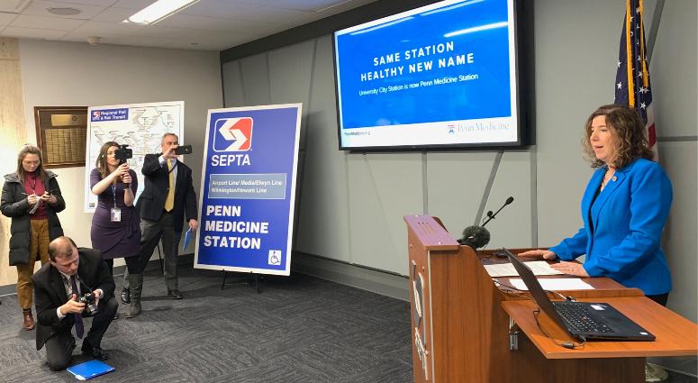SEPTA changes station to Penn Medicine