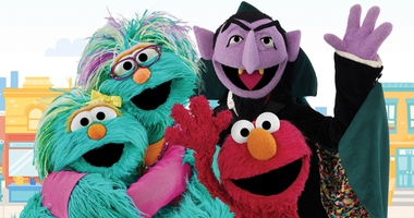 """Sesame Street"" characters promoting the 2020 Census"