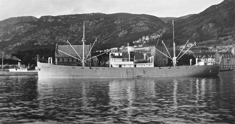 Norwegian steamship Octavian