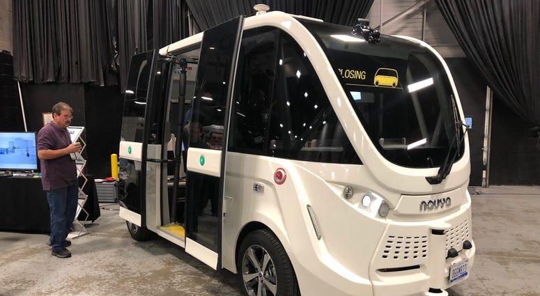 NJ Transit self-driving buses