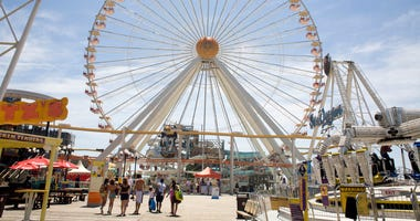 Morey's pier in Wildwood, New Jersey, circa 2010