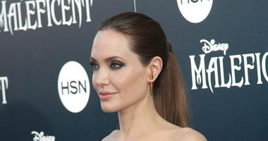 """Angelina Jolie attends The World Premiere of """"Maleficent"""" held at the El Capitan Theatre in Los Angeles, CA on May 28, 2014."""