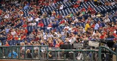 The Philadelphia Phillies play host to the Atlanta Braves at Citizens Bank Park in Philadelphia.