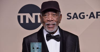 Morgan Freeman at the 24th annual Screen Actors Guild Awards