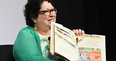 Supreme Court Associate Justice Sonia Sotomayor participates the 18th annual Library of Congress National Book Festival in Washington D.C., Sept. 1, 2018.
