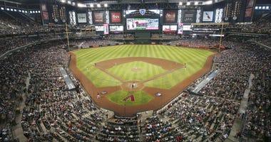 Chase Field in Phoenix, Arizona