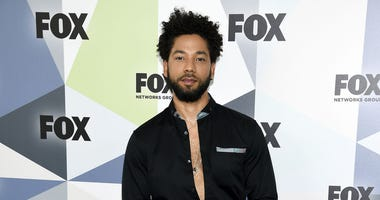 In this Monday, May 14, 2018 file photo, actor and singer Jussie Smollett attends the Fox Networks Group 2018 programming presentation after party at Wollman Rink in Central Park in New York.