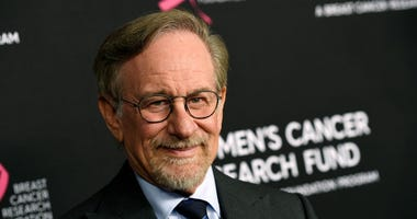 "Steven Spielberg poses at the 2019 ""An Unforgettable Evening"" benefiting the Women's Cancer Research Fund, at the Beverly Wilshire Hotel, in Beverly Hills, Calif."