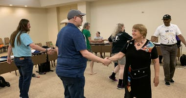 the International Association of Gay Square Dance Clubs is hosting its annual convention in Philadelphia.