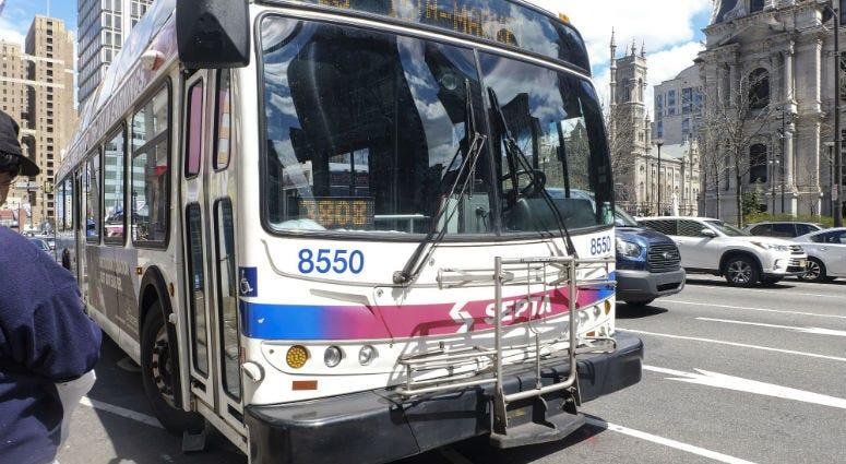 A SEPTA bus.