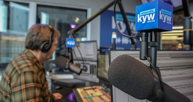 Studio P at KYW Newsradio.