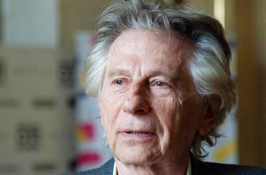 "Roman Polanski appears at an international film festival, where he promoted his latest film, ""Based on a True Story,"" in Krakow, Poland."