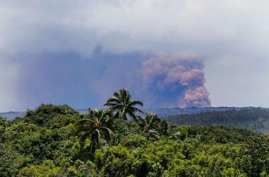 Kilauea volcano erupts May 4.