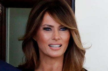 Melania Trump announces her initiatives as first lady.