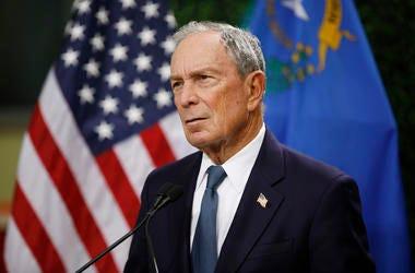 File photo of former New York City Mayor Michael Bloomberg