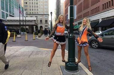 Aubrey Luce & Madison Pennington are heading to Worlds and Nationals after winning Irish Dancing or Oireachtas competitions.