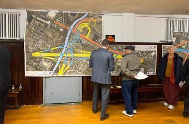 PennDOT holds a public meeting in Bridesburg on revised I-95 construction plans