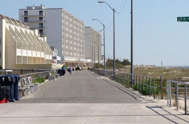 Sea Isle City Promenade.