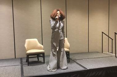 "Tina Lifford of the Oprah Winfrey Network series ""Queen Sugar,"" spoke at the Women of Destiny Breakfast."