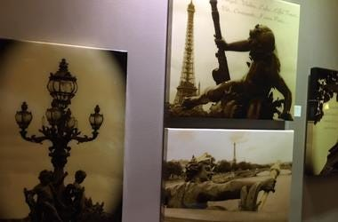 """""""French kiss, a love letter to Paris"""" is a photography exhibit at the Sofitel Hotel at 17th and Samson streets in Center City."""