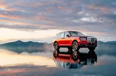 Rolls-Royce vehicles boast of many outstanding features. The ability to drive through water nearly two feet deep is not usually one of them. But the new Rolls-Royce Cullinan, just unveiled in London, can do that.
