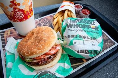 A man is suing Burger King because the meatless Impossible Whopper is cooked on the same grill as meat products, the lawsuit alleges.