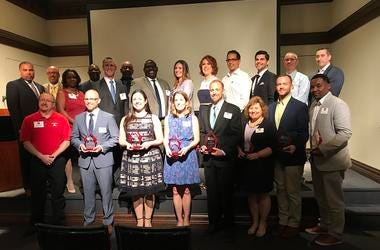 Eleven area teachers were honored at the 12th annual Teacher Hero Awards.