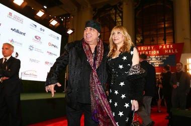 Musician and actor Steven Van Zandt and wife Maureen