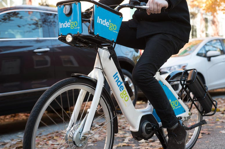 Note to Philly bike share riders: When you take an e-bike, you have to bring it back
