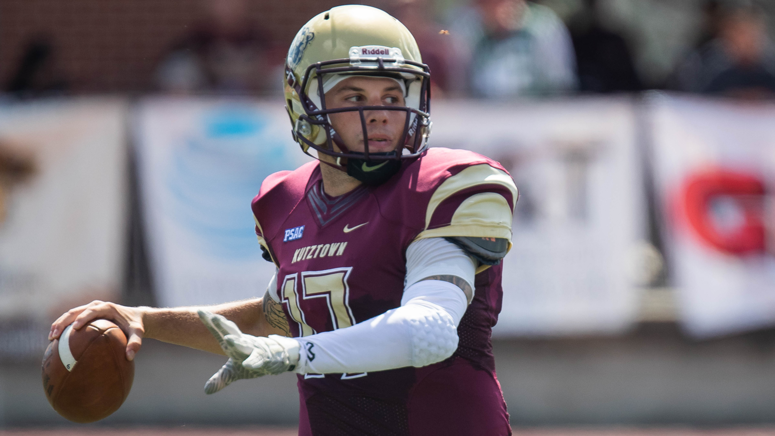 Kutztown redshirt senior quarterback Collin DiGalbo