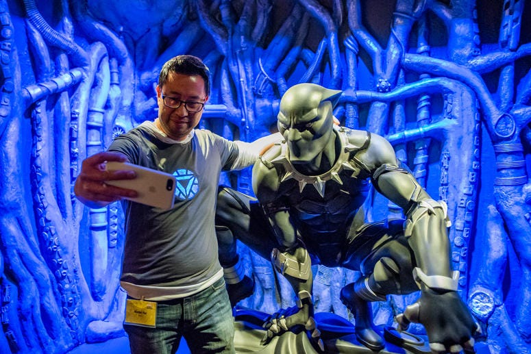 """Marvel: Universe of Super Heroes"" at The Franklin Institute offers photo-worthy snapshot moments with Marvel characters."